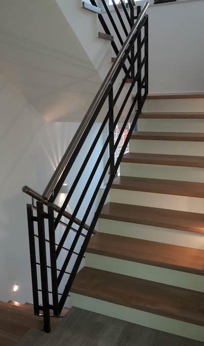 Geländerbau-Treppe
